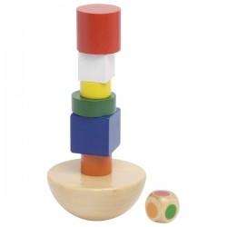 La Tour en équilibre, jeu de tour chancelante