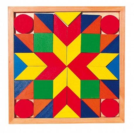 Jeu de mosaïque, tangram