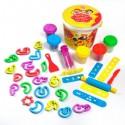 Pâte à modeler : les 28 lettres de l'alphabet arabes - Fun Dough