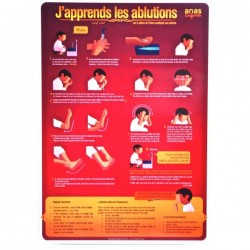 Poster: J'apprends les ablutions