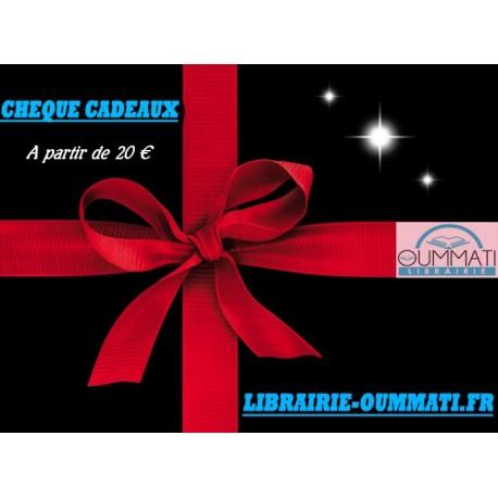 Cheque cadeaux 20€