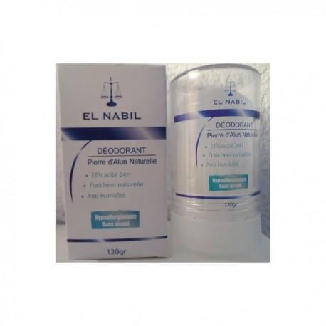 Déodorant Pierre d'Alun Naturelle -El Nabil-