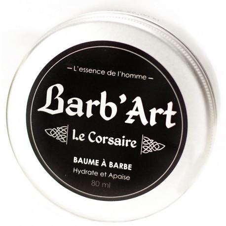 BAUME HYDRATANT À BARBE 80ML - LE CORSAIRE AU PARFUM FRAIS