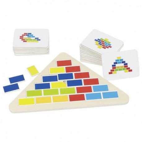 Puzzle triangle segmenté
