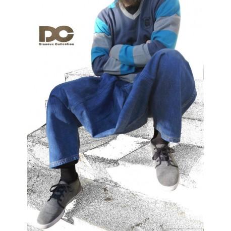 Sarwal (pantalon) jeans Dianoux bleu