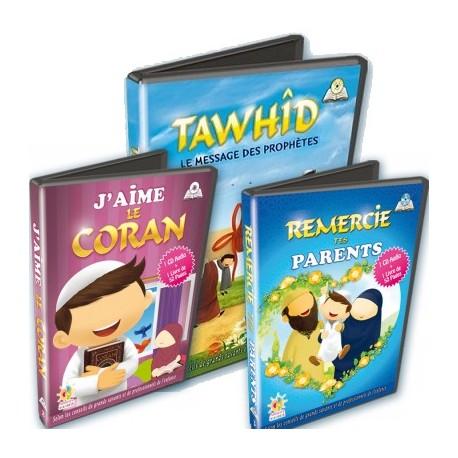 Pack CD + livret enfants