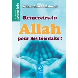 Remercies-tu Allah pour Ses bienfaits