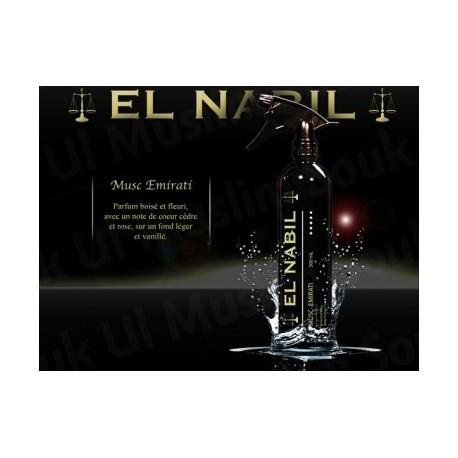 "Désodorisant El Nabil ""Musc Emirati"" - 500ml"
