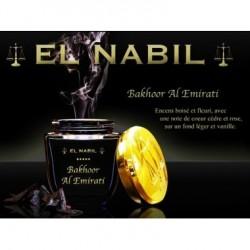 Bakhoor Al Emirati - El Nabil - 60gr