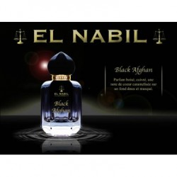 Parfum Spray El Nabil - Black Afghan - 50 ml