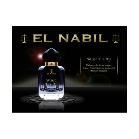 Parfum Spray El Nabil - Musc Fruity - 50 ml