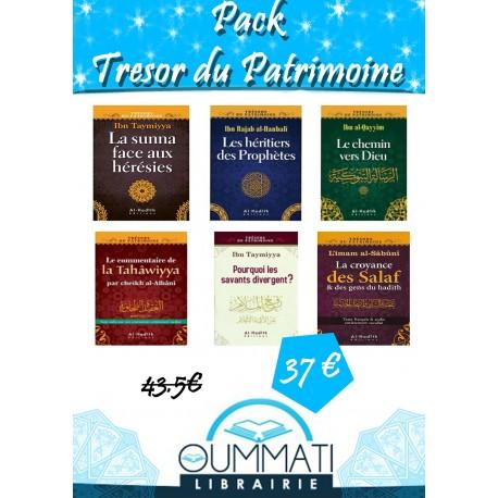 Pack Trésors du Patrimoine