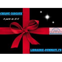 Chèque cadeaux 50€