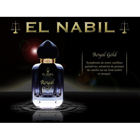 Parfum Spray El Nabil - Royal Gold - 50 ml